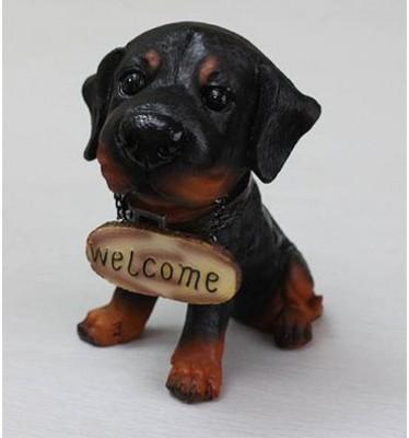 Chó sứ trang trí