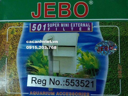 Máy lọc treo Jebo 501