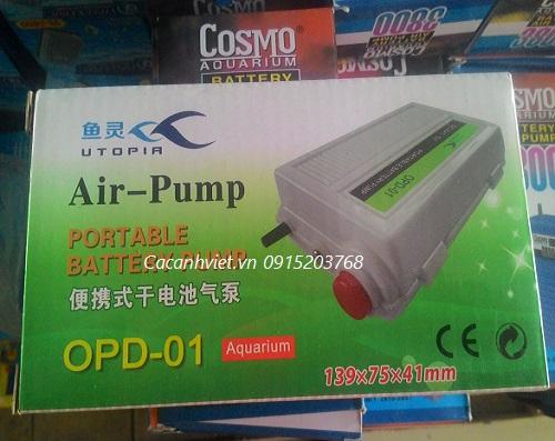 Máy sủi chạy pin ODP-01