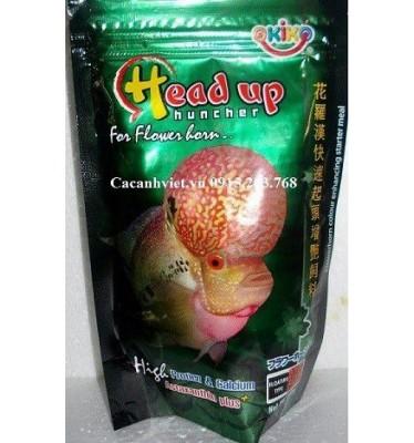 Thức ăn cá La Hán Okiko xanh 100g