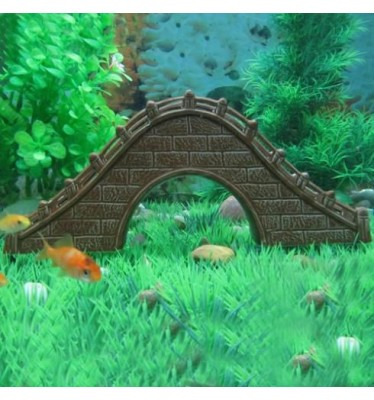 Cầu trang trí bể cá