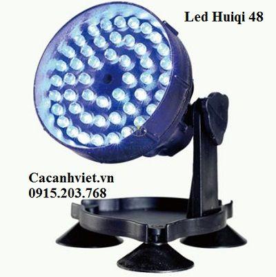 Đèn led âm nước đổi màu Huiqi 48 đơn