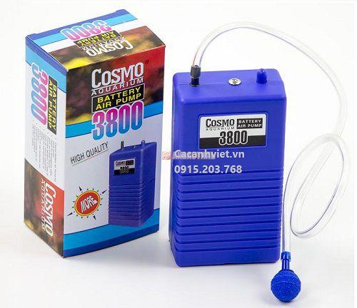 Máy sủi pin Cosmo 3800